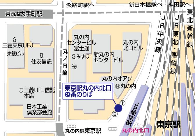 線 東京 駅 丸ノ内